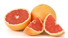 photograph of grapefruit