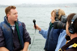 KQED QUEST interview photograph